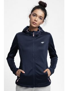 Women's softshell jacket SFD300 - dark navy melange