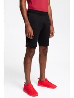 Men's active shorts SKMF200 - black