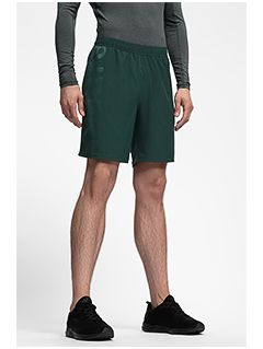 Men's active shorts SKMF252 - dark green