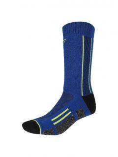Unisex trekking socks SOUT201 - denim melange