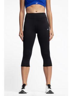 Women's active leggings SPDF300 - black