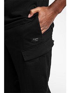 Men's casual trousers SPMC201 - black