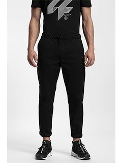 Men's casual trousers SPMC204 - black