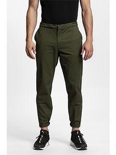 Men's casual trousers SPMC204 - khaki