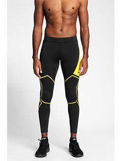Men's active pants SPMF151 - black
