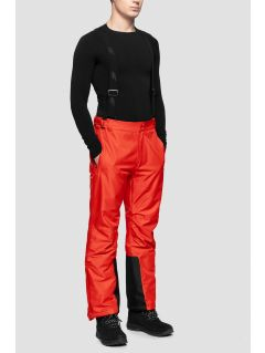 Men's ski pants SPMN350 - red