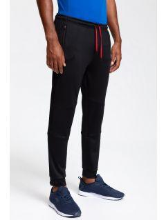 Men's active pants SPMTR200 - black