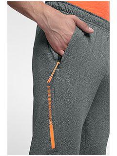 Men's active pants SPMTR201 - medium grey melange
