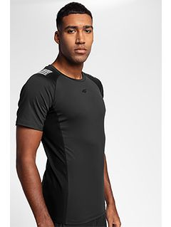 Men's active T-shirt TSMF155 - black
