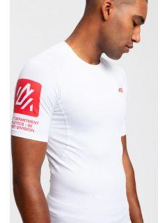Men's active T-shirt TSMF202 - white