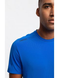 Men's active T-shirt TSMF206 - cobalt blue