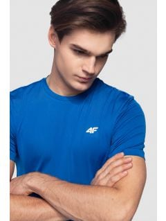 Men's active T-shirt TSMF300 - cobalt blue