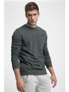 Men's long sleeve T-shirt TSML300 - dark grey