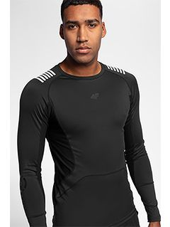 Men's active long sleeve shirt TSMLF150 - black