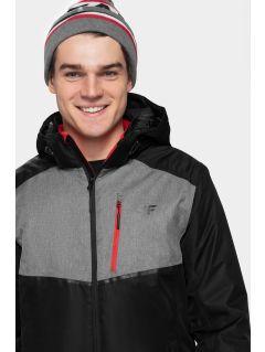 Men's ski jacket KUMN003 - black