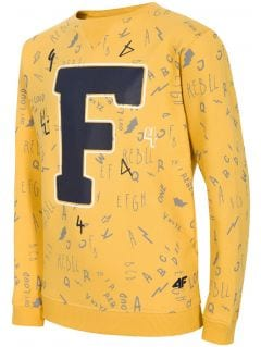 Sweatshirt for older children (boys) JBLM216 - yellow