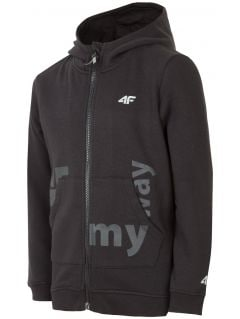 Hoodie for older children (boys) JBLM200 - black