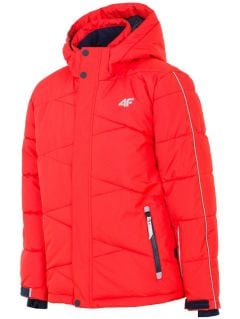 Ski jacket for older children (boys) JKUMN400 - red