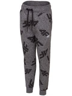 Sweatpants for younger children (boys) JSPMD103 - dark grey melange