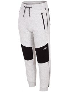 Sweatpants for older children (boys) JSPMD205 - grey