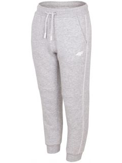 Sweatpants for older children (boys) JSPMD211A - light grey melange