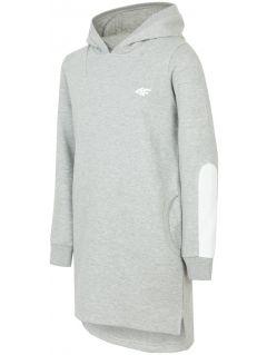 Sports dress for older children (girls) JSUDD206 - light grey melange