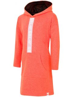 Sports dress for older children (girls) JSUDD203 - neon orange