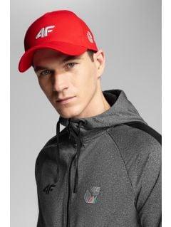 Men's active hoodie 4Hills BLMF200 - medium grey melange
