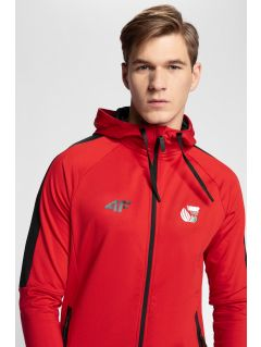 Men's active hoodie 4Hills BLMF200 - red
