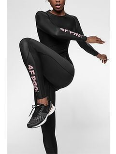 Women's compression leggings 4FPro SPDF400A - black