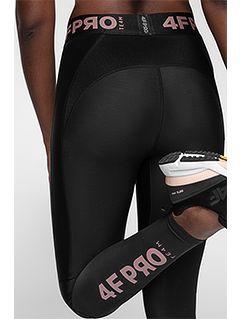 Women's compression leggings 4FPro SPDF401A - black