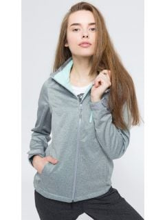 Women's softshell jacket SFD002 - light gray