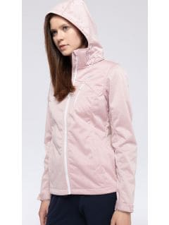 Women's softshell jacket SFD301 - light pink melange