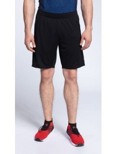 Men's active shorts SKMF261 - black