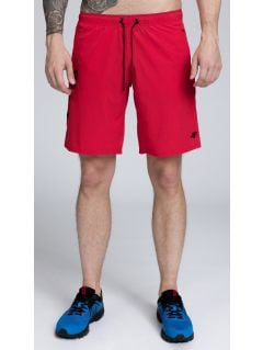 Men's active shorts SKMF263 - red