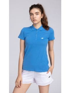 Women's polo shirt tsd017 - cobalt blue