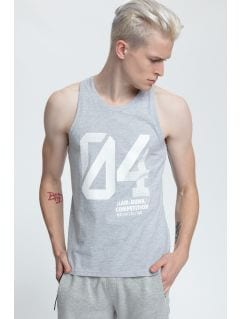 Men's tank top tsm008 - light gray