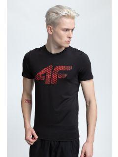 Men's active T-shirt TSMF259 - black