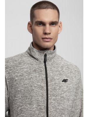 Men's fleece sweatshirt PLM300 - light grey melange