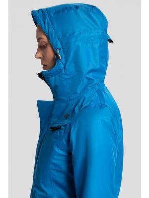 Women's ski jacket KUDN253 - blue