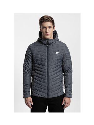 Men's down jacket KUMP301 - anthracite melange