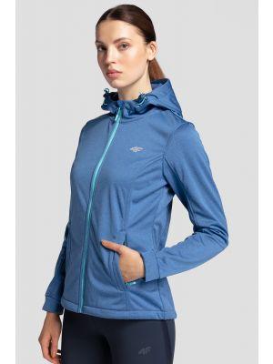Women's softshell jacket SFD300 - cobalt blue melange