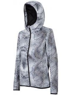Women's urban jacket KUD005 - grey allover