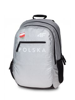 Urban backpack Poland PyeongChang 2018 PCU900 - silver