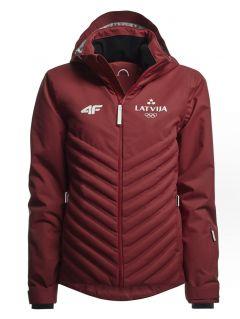Men's ski jacket Latvia Pyeongchang 2018 - KUMN800 - maroon