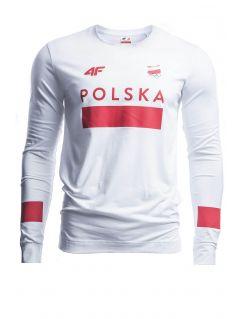 Men's longsleeve Poland PyeongChang 2018 TSML210 - white