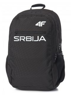 Urban backpack Serbia Pyeongchang 2018 PCU700 - black