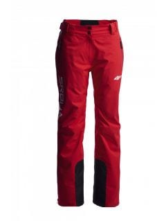 Women's ski pants Serbia Pyeongchang 2018 SPDN700  - cherry red