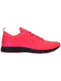 Women's sports shoes OBDS301 - neon pink