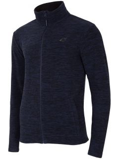 Men's fleece PLM300 - dark blue melange
